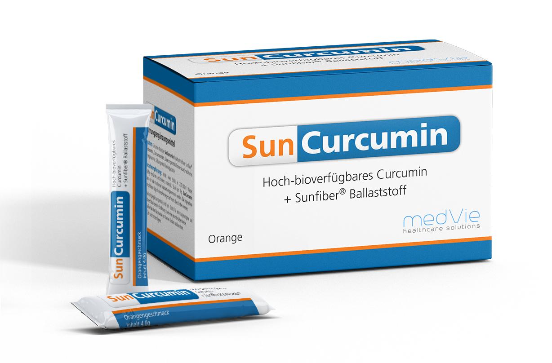Verpackungsdesign Suncurcumin