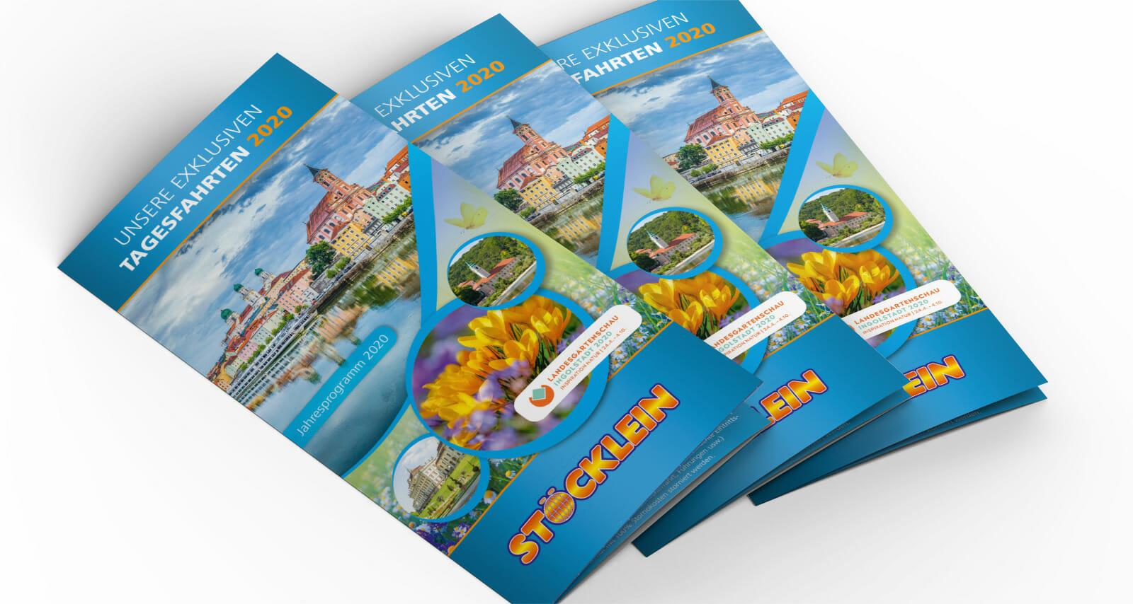 Stoecklein Reisen Jahresprogramm | Portfolio Sowiesodesign Fürth