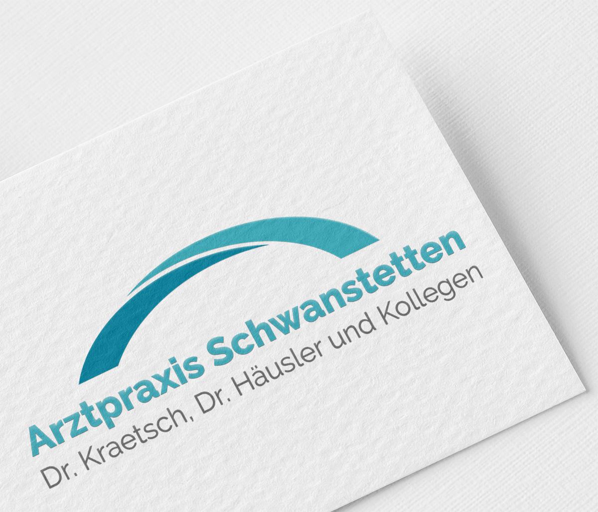 Arztpraxis Schwanstetten Logodesign